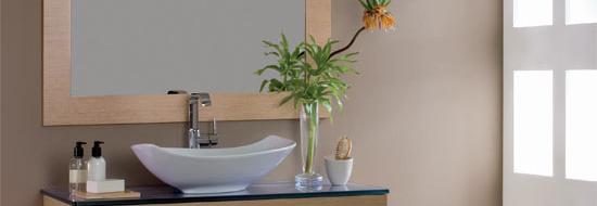 Lavabo con mueble a suelo acuairis for Mueble lavabo desague suelo